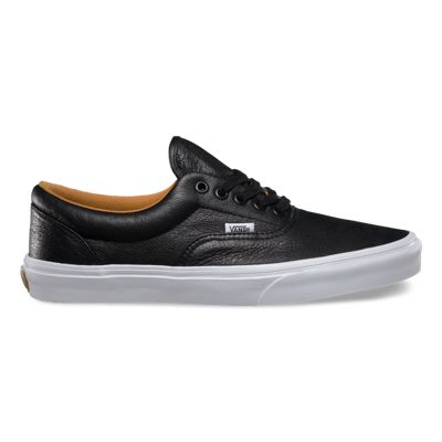 vans era brown aged leather trainers nz