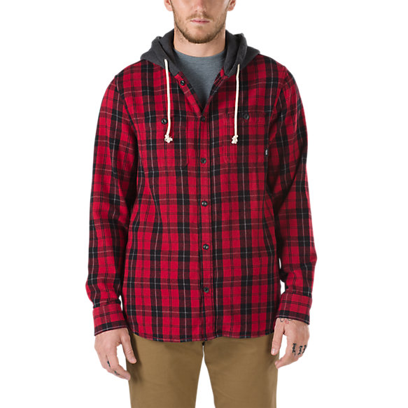 3bea35cb80 Lopes Buttondown Flannel Hoodie