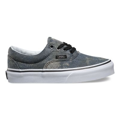 womens vans navy & black authentic acid denim trainers nz