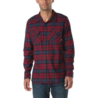 vans banfield flannel