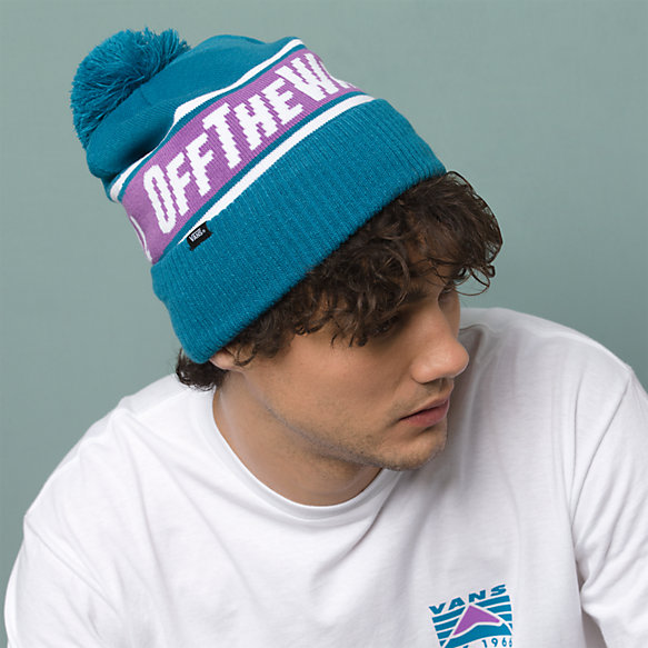 Off The Wall Pom Beanie