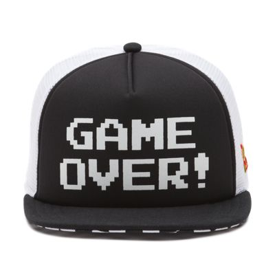 cc7191dc411 Nintendo GAME OVER Trucker Hat