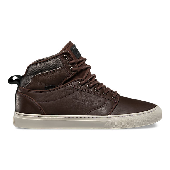 vans bedford brown leather nz