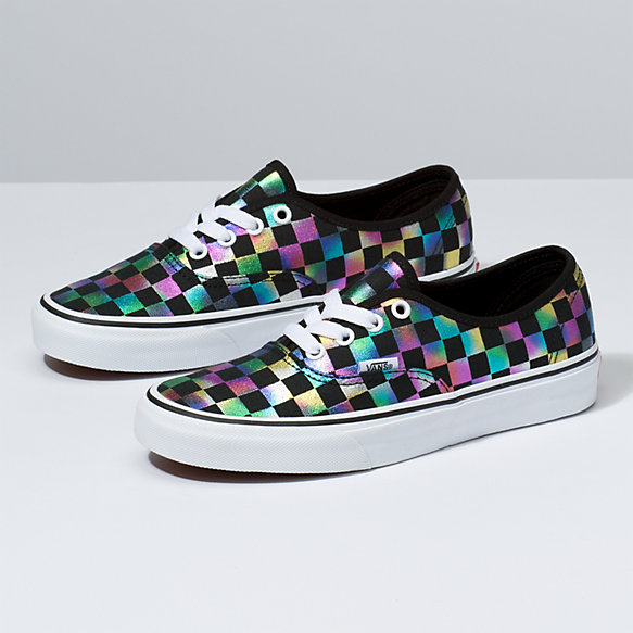 Iridescent Check Authentic