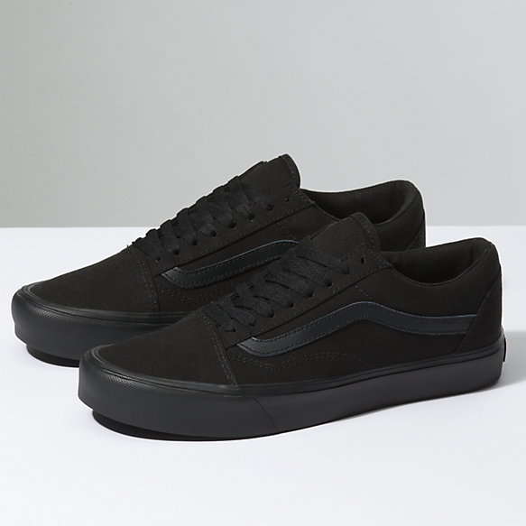 vans all black ladies