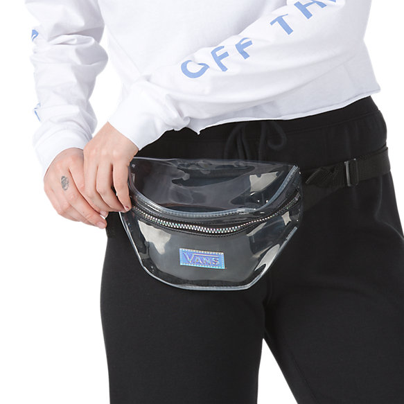 Clear Cut Iridescent Fanny Bag