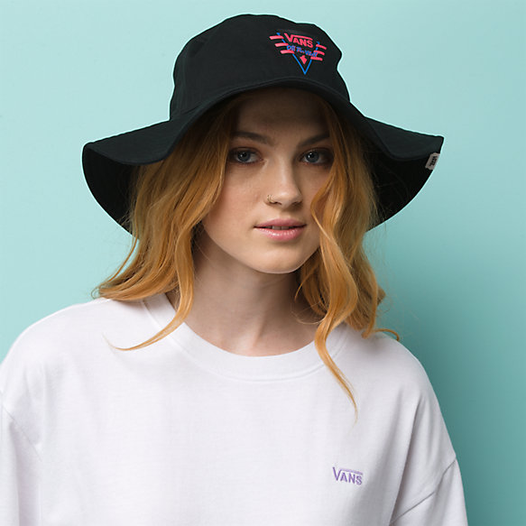 Suma Time Wide Brim Bucket Hat