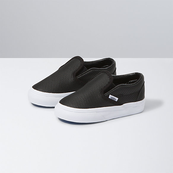 Toddler Perf Leather Slip-On