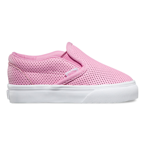 Toddlers Perf Leather Slip-On