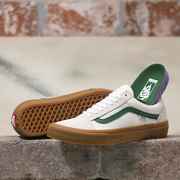 old skool vans kaki