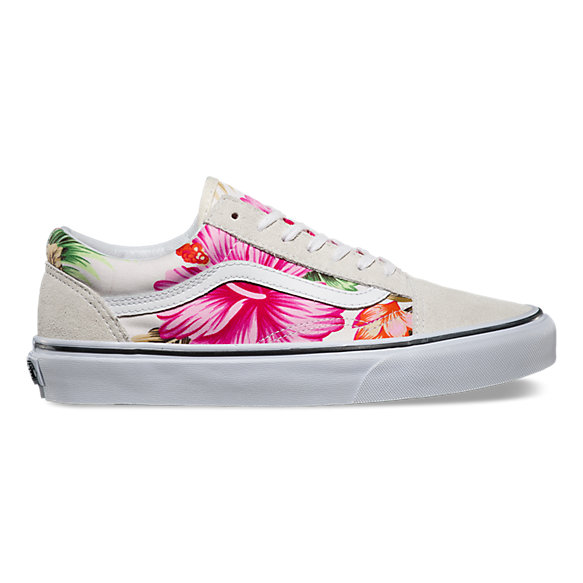 Hawaiian Floral Old Skool