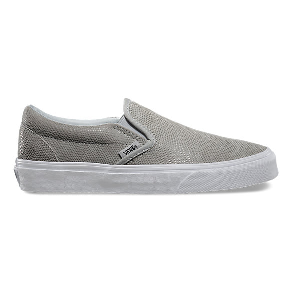 white vans womens slip on