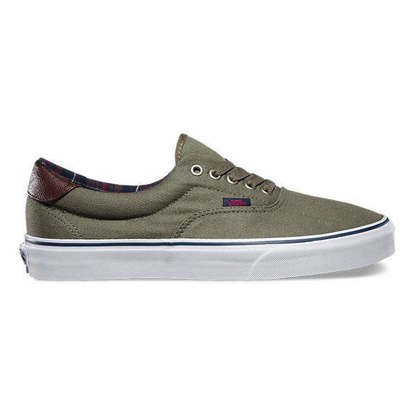 vans unisex plaid era 59 sneakers