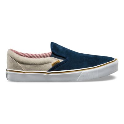 Vans Classic Slip On Mens Shoes Blue BS6895681