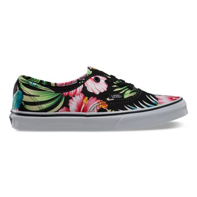 vans authentic hawaiian floral shoes nz