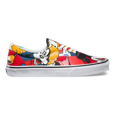 Vans Womens Multi Multi Era Disney Mickey Trainers With Fast Delivery