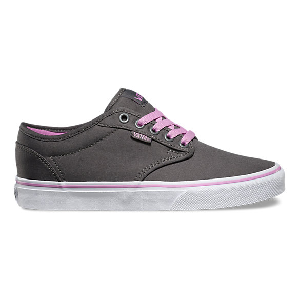 vans atwood canvas trainers pewter nz
