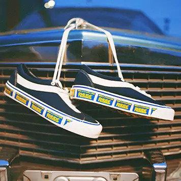 Rhude Bold NI License Plate Old Skool Vans