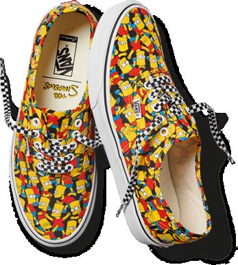 chaussure vans a motif
