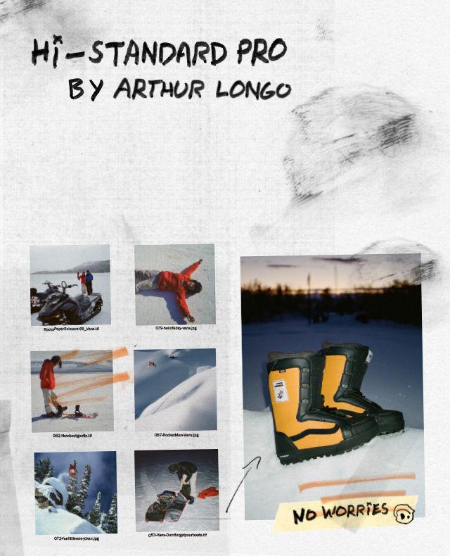 vans snowboard donna