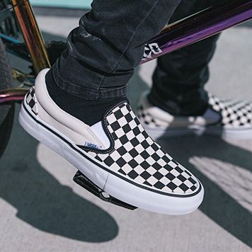 Vans BMX Spotlights the Checkerboard Slip-On Pro with Team Rider Scotty  Cranmer