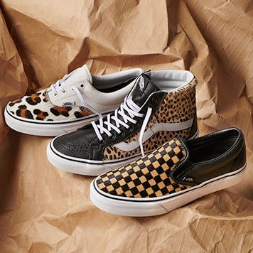 2d85689ee70 Vans Gets Wild with Calf Hair Classic Footwear Styles