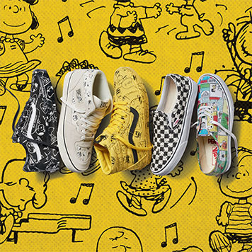 THE VANS X PEANUTS COLLECTION