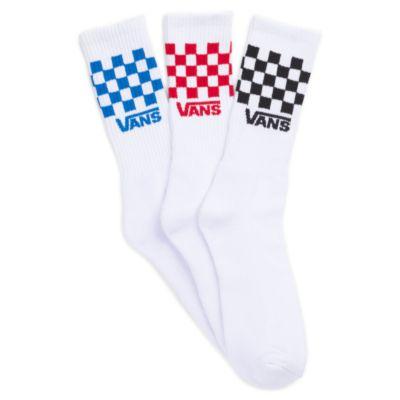 Check Crew Socks 3 Pack