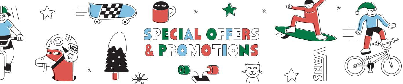 Vans® Special Offers, Promotions & Coupons | Official