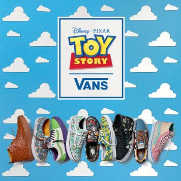 vans toy story enfant