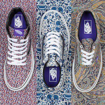 277e507a3a The Fall 2014 Vans x Liberty Art Fabrics Collection is Here
