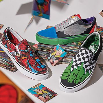 2ce2b0b5120 Vans Joins Forces with Marvel