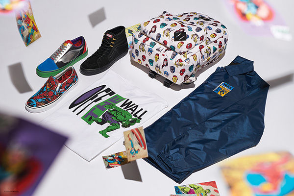 Vans' new Marvel collection includes over 70 designs for shoes, sandals, and clothing.