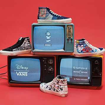 8f85da710d9 Vault by Vans and Disney Celebrate Mickey Mouse s 90th Anniversary