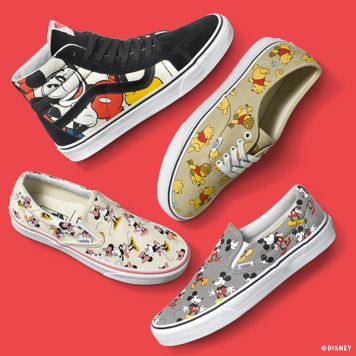 c6f81ffecc The Disney and Vans Collection