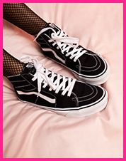 SK8 Taper Shoe White