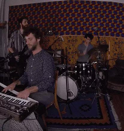 Vans Musicians Wanted contestant wearing Vans Beanie speaking in studio microphone