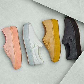 5b400423 Vans Classics Reimagines the Platform with New Suede Outsole Pack