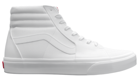 vans blanche customiser