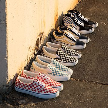 The Era Pro in Checkerboard
