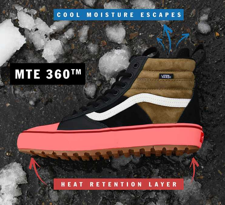 2vans all weather mujer