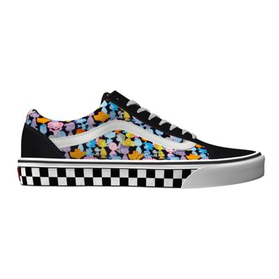 vans cartoon shoes