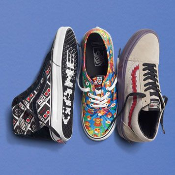 94cc990559 Vans Powers Up with a New Nintendo Collection