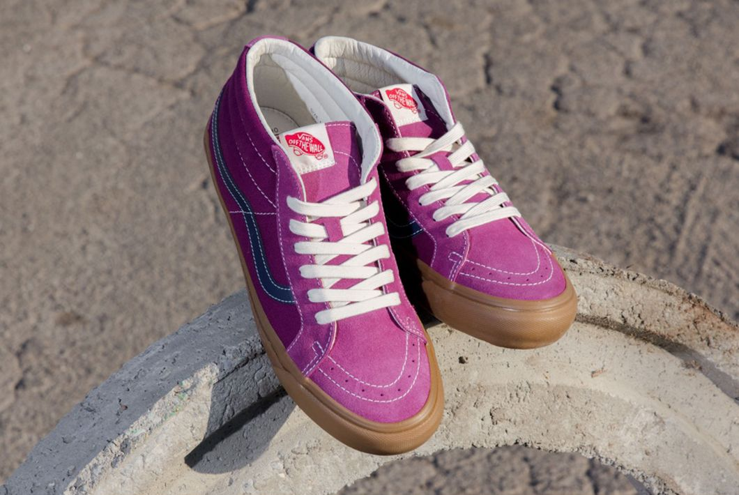 27f60a83e3543c OG Sk8-Mid LX. (Suede Canvas) Amaranth Eclipse