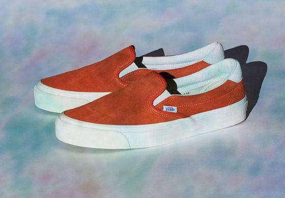 4530b73c94f OG Slip-On 59 LX. (Suede) Red Orange Marshmallow