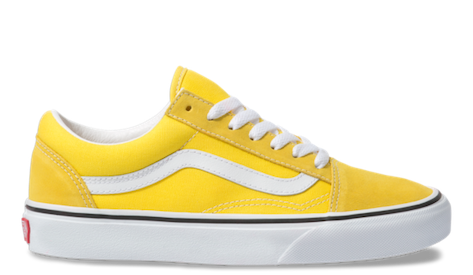 yellow vans transparent