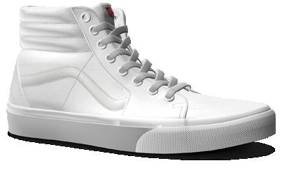 Custom Sk8-Hi shoe