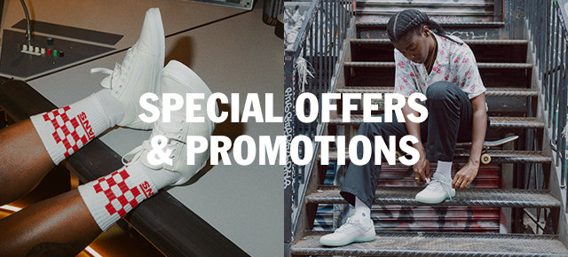 Vans special offers and promotions