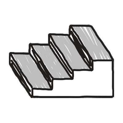 Stairs/gaps
