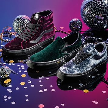 0de1517c93 Vans Releases Luxe Velvet Collection for Holiday